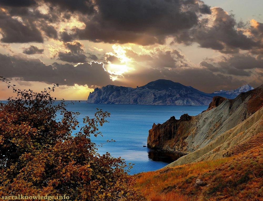 море крыма в октябре фото может быть использована