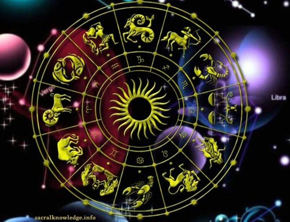 зодиакальный круг в небе