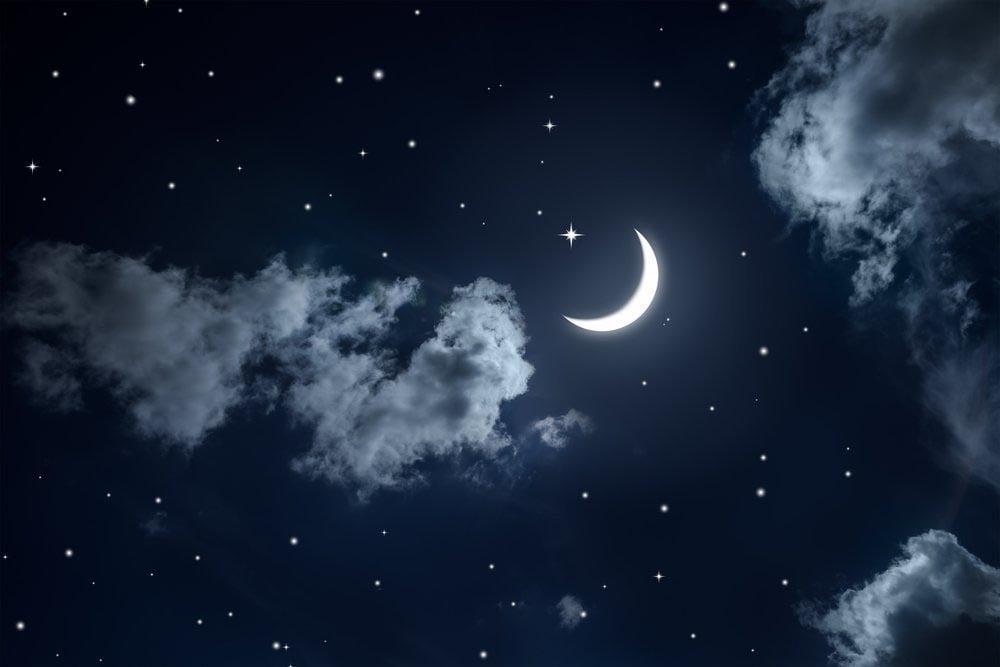 Растущая или убывающая луна