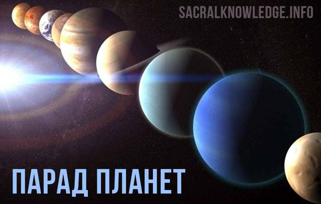 Парад планет 4 июля 2020